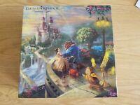 Thomas Kinkade 750pc jigsaw puzzle - Disney Beauty and the Beast Falling in Love