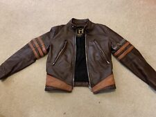 Legacy Distressed Logan X1 wolverine jacket made in USA by vanson leathers 38R