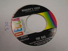 The Bag Nickels N Dimes/Nobody's Child 45 RPM Decca Records EX Psychedelic Rock