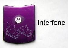 New Purple Original Spec.Metal Battery Cover for Motorola V3i Mobile Phone