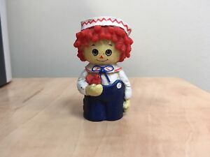 Vintage Raggedy Andy Plastic Finger Puppet 1971, rare