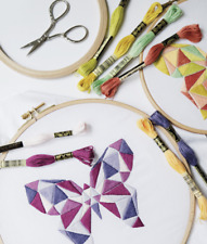 DMC Embroidery Pattern Book No.02 35 Colours