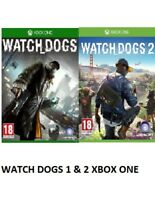 Watch Dogs 1 & 2 Xbox one MINT - Same Day Dispatch via Super Fast Delivery