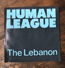 The Human League-The Lebanon-Thirteen-45 RPM Record-A&M Records-Virgin Music