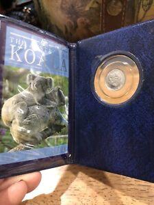 The Australian koala proof issue 1989 coin platinum perth Mint Rare