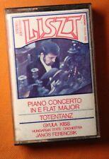 Liszt  Piano Concerto in e Flat Major, Totentanz,  Gyula Kiss, János Ferencsik