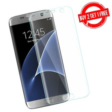 Samsung Galaxy S7 Full Coverage Clear Case Compatible 3D Film Screen Protector