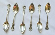 TOWLE 1895-2009 Old Colonial Sterling DEMITASSE Spoon Set of 6  NO Monogram