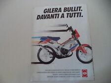 advertising Pubblicità 1990 GILERA BULLIT 50