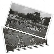FESTIVAL of EMPIRE Crystal Palace 1911 Lot 2 RP Postcard