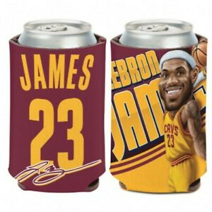 Cleveland Cavaliers Lebron James #23 WinCraft Team Colors Neoprene Can Cooler
