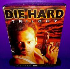 Die Hard Collection (DVD, 1999, 3-Disc Set) Bruce Willis B539