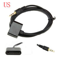 FOR iPod Dock 30pin Female to 3.5mm Audio Aux Input Male Adapter Converter