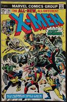 Uncanny X-Men # 96 FN/VF 7.0   1st Moira MacTaggert, Claremont/Cockrum 1975