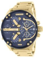 ⌚ DIESEL Original Men's Mr. Daddy 2..0 Gold Stainless-Steel Quartz Watch DZ7333