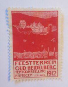 Vignettes, Feestterrein Oud-Heidelberc Numecen, Netherlands 1912 (70449)