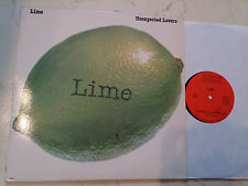 LIME Unexpected Lovers  *RARE US MAXI*TSR Label*