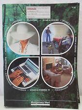 1985 Spring Summer MONTGOMERY WARD Department Store Catalog