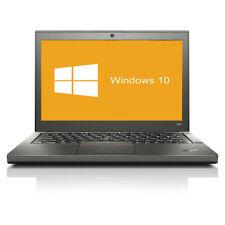 Lenovo ThinkPad X240 Notebook Intel Core i7- 4600U 2x 2,1GHz 8GB RAM 256GB SSD