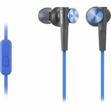 Sony MDR-XB50AP EXTRA BASS In-Ear Earbuds Headset, Blue- MDRXB50AP/L ( NEW)