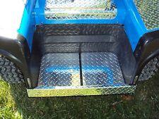 Ezgo Marathon Golf Cart Diamond Plate Bag Well Liner Custom Look WOW
