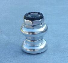 """Jeu de direction en aluminium filetage anglais 1 pouce 1"""" BSA BSC 25.4mm"""