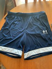 under armour Men's Sports shorts xl Blue White New With Tags