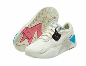 Puma RS-X3 Puzzle Fashion Sneakers,Shoes 37157026 Men's Whisper White- Silver