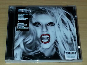 LADY GAGA BORN THIS WAY CD 2011 2 DISCS VGC.