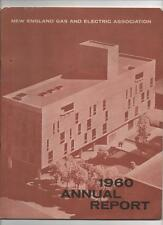 UTILITIES COMPANY 1960 Annual Report New England Gas and Electric Yankee Atomic