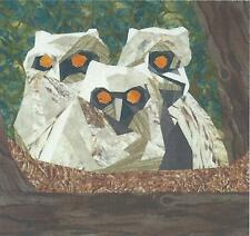 Wee Owlets Paper Piecing Quilt Pattern Silver Linings