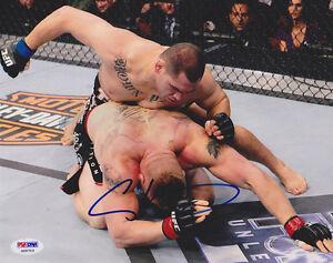 Cain Velasquez SIGNED 8x10 Photo *ACTION SHOT* UFC MMA PSA/DNA AUTOGRAPHED