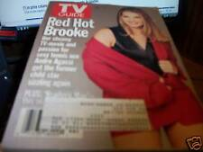 TV Guide 11/4-10 1995 Brooke Shields Red Hot