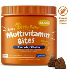 Multivitamin for Dogs - Glucosamine & Chondroitin + MSM for Hip & Joint + - Fish