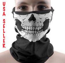 Skull Bandana Paintball Face Mask Ski Airsoft Tactical Gear COD Balaclava Tube