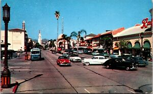 Postcard Westwood Village Shopping Center in Los Angeles, California~1196