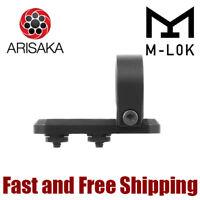 """Arisaka Defense INLINE Adjustable Handheld Flashlight M-LOK Mount - 1"""" Ring"""