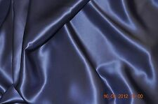 Pure Silk Crepe Back Satin 19 Momme 114 Cm Hyacinth by Half Meter