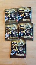 New Lot of 5 Bags Batman Vs Superman Mighty Minis Series 1