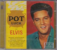 CD ELVIS PRESLEY POT LUCK 12T EDITION 2013 NEUF SCELLE