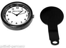 Lenker-Uhr analog für Motorrad Roller Enduro wassabweisend 40 mm miniatur