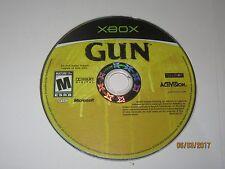 Gun (Microsoft Xbox, 2005) Disc Only