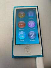 Apple iPod nano 7. Generation blau (16GB) in Originalverpackung, Model A1446