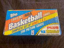 Topps 1992-93 NBA Basketball 396 Cards Complete Set