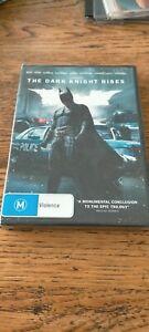 The DARK KNIGHT RISES (Christian BALE Tom HARDY) Batman ACTION Film DVD Region 4