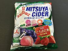 Asahi MITSUYA CIDER Candy Grape Peach Strawberry Flavor 136g MADE IN JAPAN