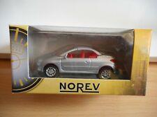 Norev Peugeot 206 CC in Grey on 1:64 in Box