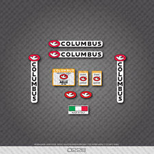 0228 Columbus AELLE Bicycle Frame and Fork Stickers - Decals