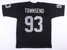 Greg Townsend Signed Oakland Raiders jersey. JSA witnessed COA