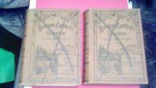Jeremias Gotthelf Albert Bitzius LOT of 2 rare antique 1800s German novels 1898